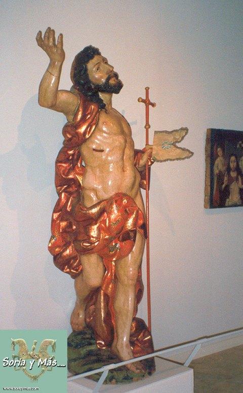 El Resucitado, de Juan de Juni en catedral del Burgo de Osma (fotografiado durante las Edades del Hombre en esta catedral)